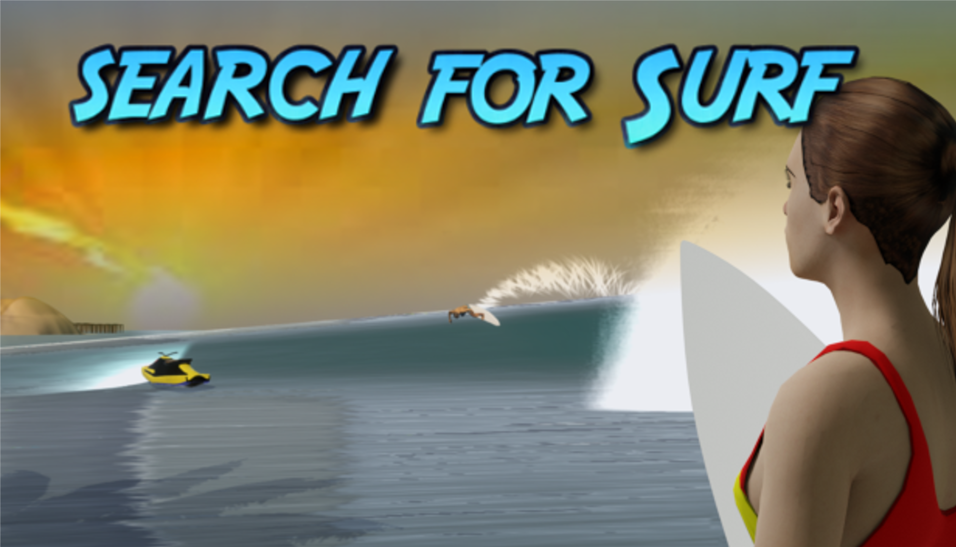 Search For Surf 3d Open world surfing game