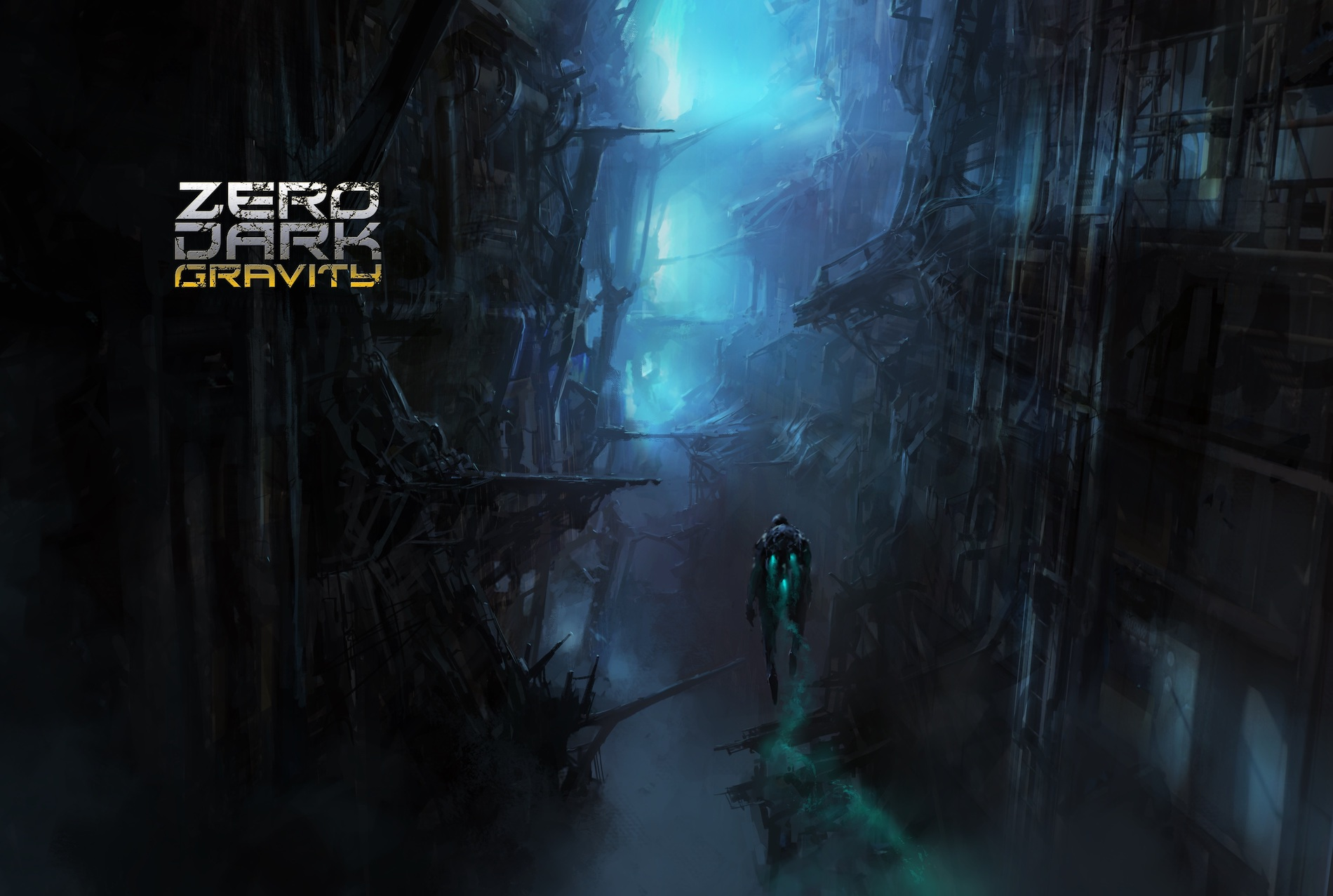 Zero Dark Gravity